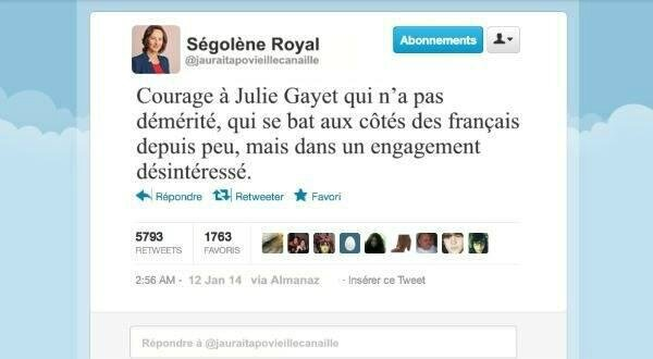 hollande ps humour