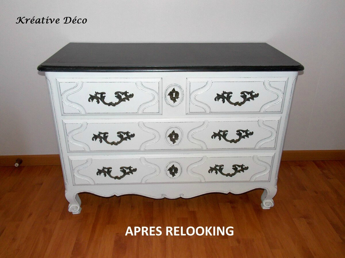 Commode Relookee A Figeac Kreative Deco