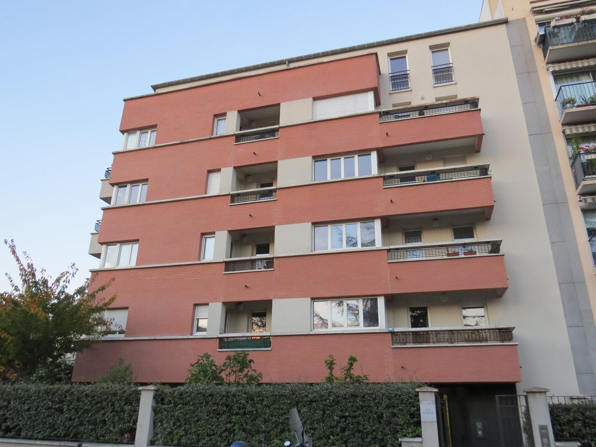 logements sociaux rue de Meudon