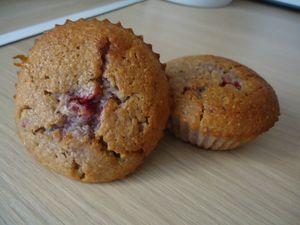 muffin au yaourt-coco-framboise -chocolat blanc 1