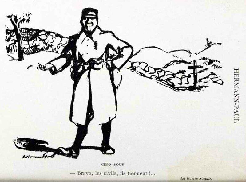 Hermann Paul cinq sous
