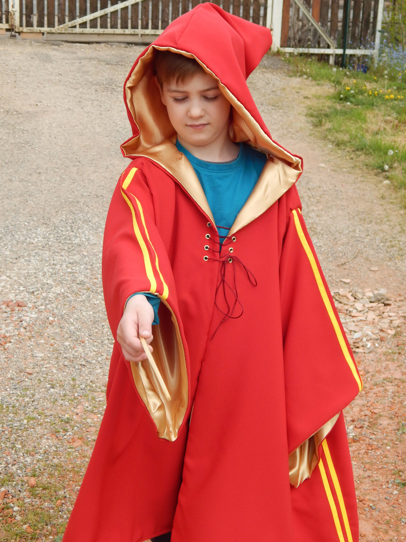 Costume de la cape de quidditch de Harry Potter
