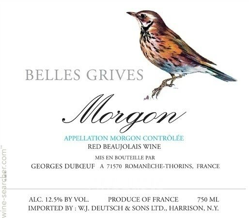 georges-duboeuf-jean-claude-debeaune-morgon-belles-grives-beaujolais-france-10420598