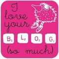 I love your blog, mon tour