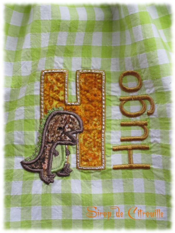 sac à doudou Hugo 3