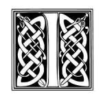 lettre typo celtique I