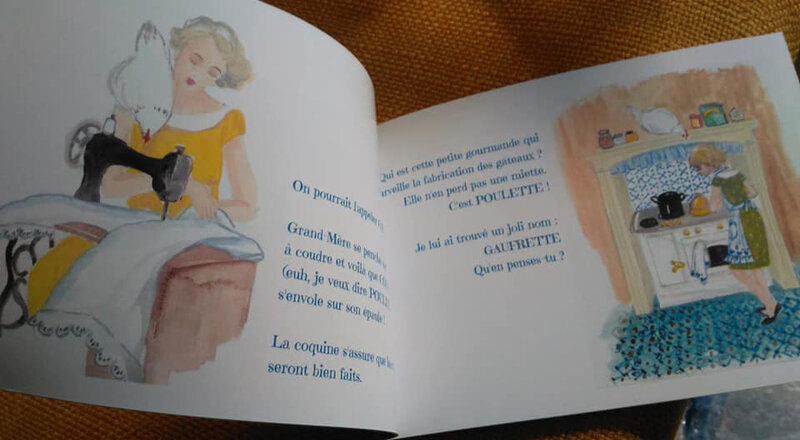 pages du livre POULETTE début