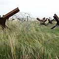 Utah Beach, obstacles