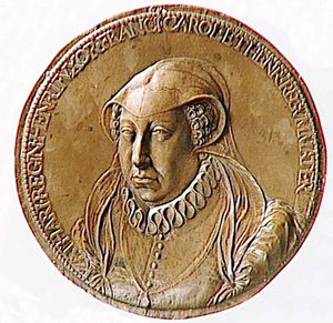 Catherine de Médicis par Gemain Pilon