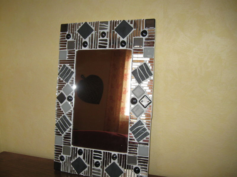 Miroir mosaique au pays de cali for Miroir mosaique design