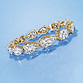 An elegant diamond bracelet, by alexandre reza