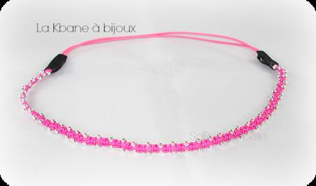 headband rose fluo1