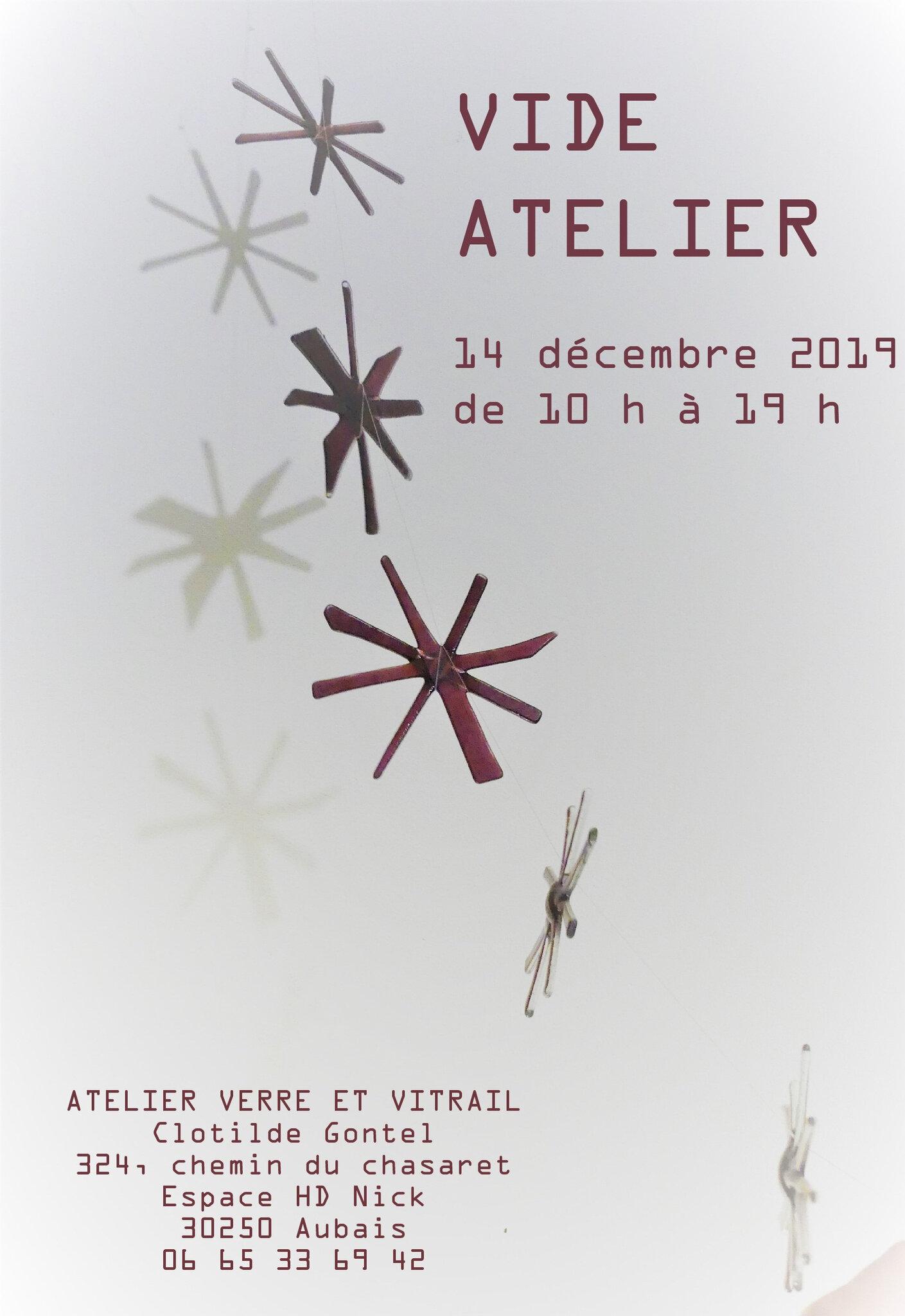 Invitation Vide Atelier