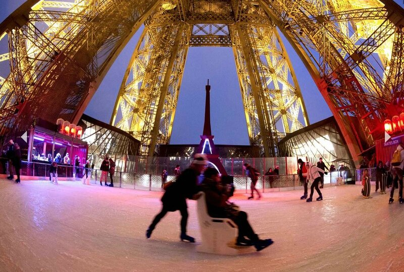 patinoire 1er etage paris