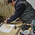 FORMATION ébèniste CHARENTE,stage CREATION bois,pierre,cuivre