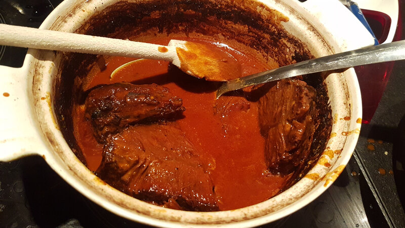 viande et sauce
