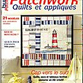 Lighthouse burda patchwork été 2014