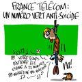 France telecom : un numéro vert anti-suicide
