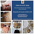 Invitation pour la fête de Stan