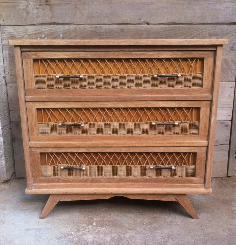 commode annees 50
