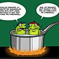 politique humour grenouille
