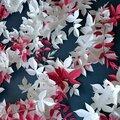 Création de décors en papier / massifs végétaux / pour la décoration de boutiques christian dior - atelier2a paper art studio