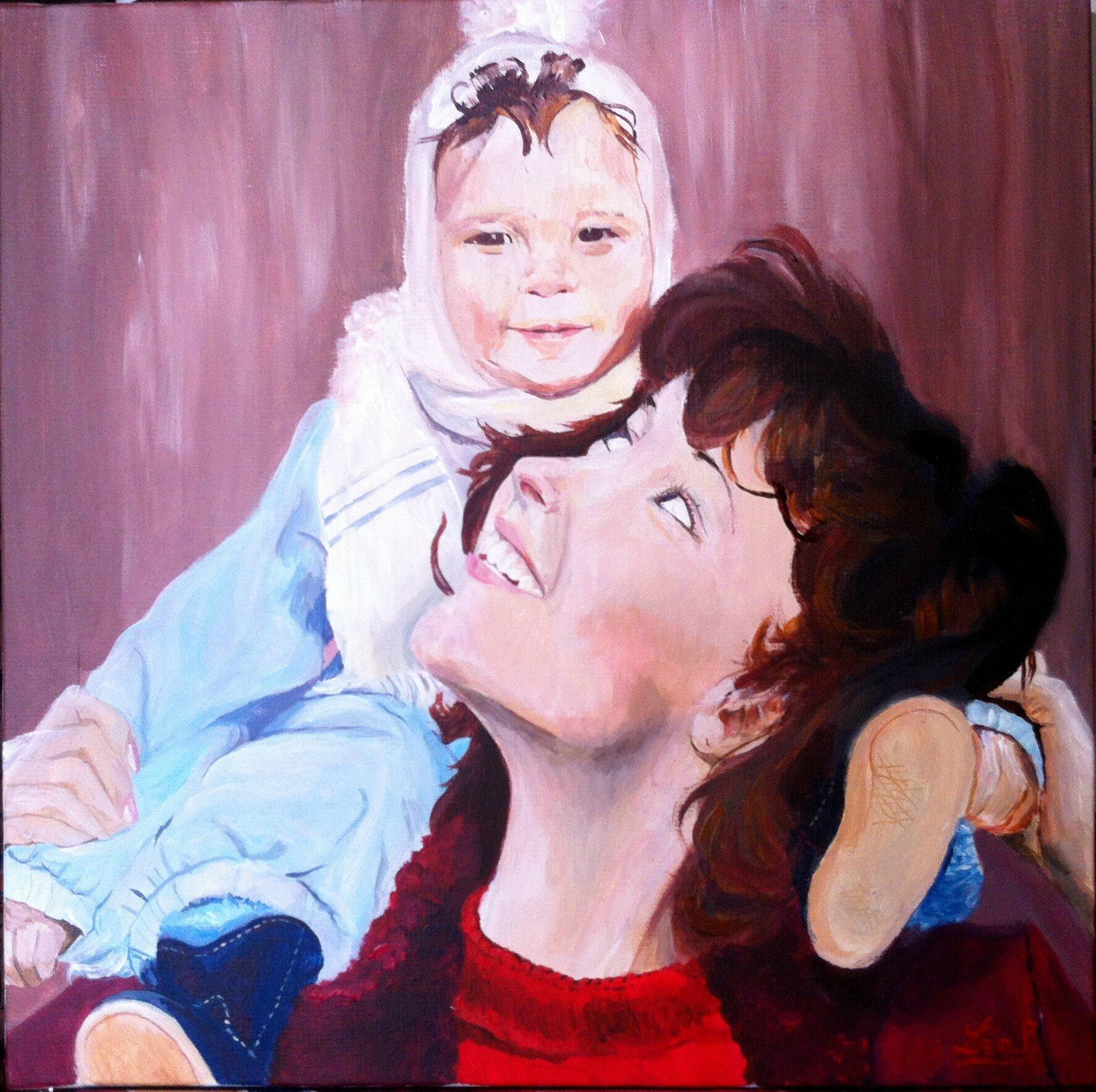 Maman avec son petit garçon