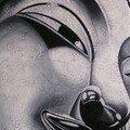 Buddha métallique