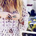 Bijoux & macramé ... love