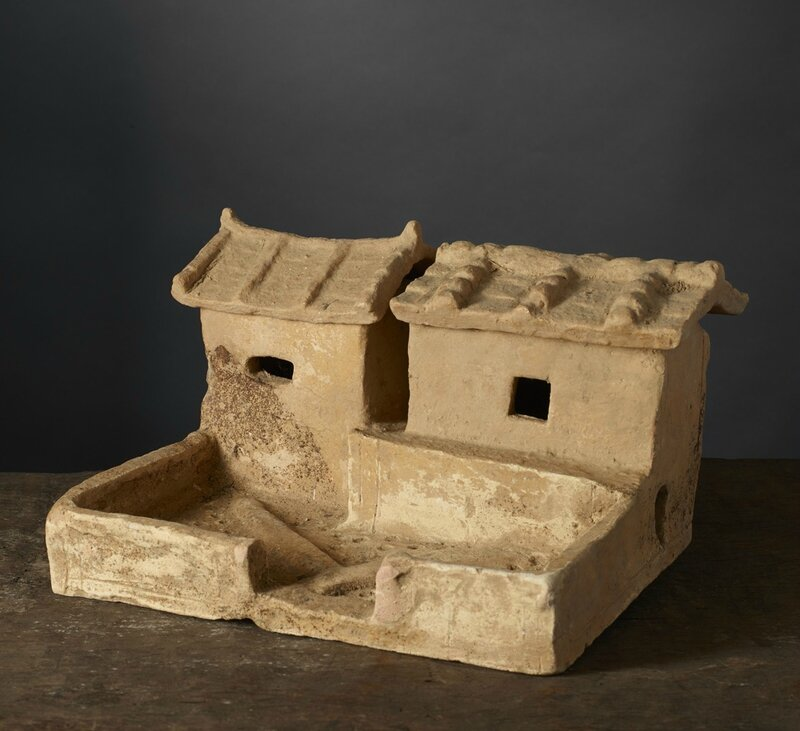 Modèle réduit de maison familiale, Vietnam, Période Hán-Việt, 1er-3e siècle