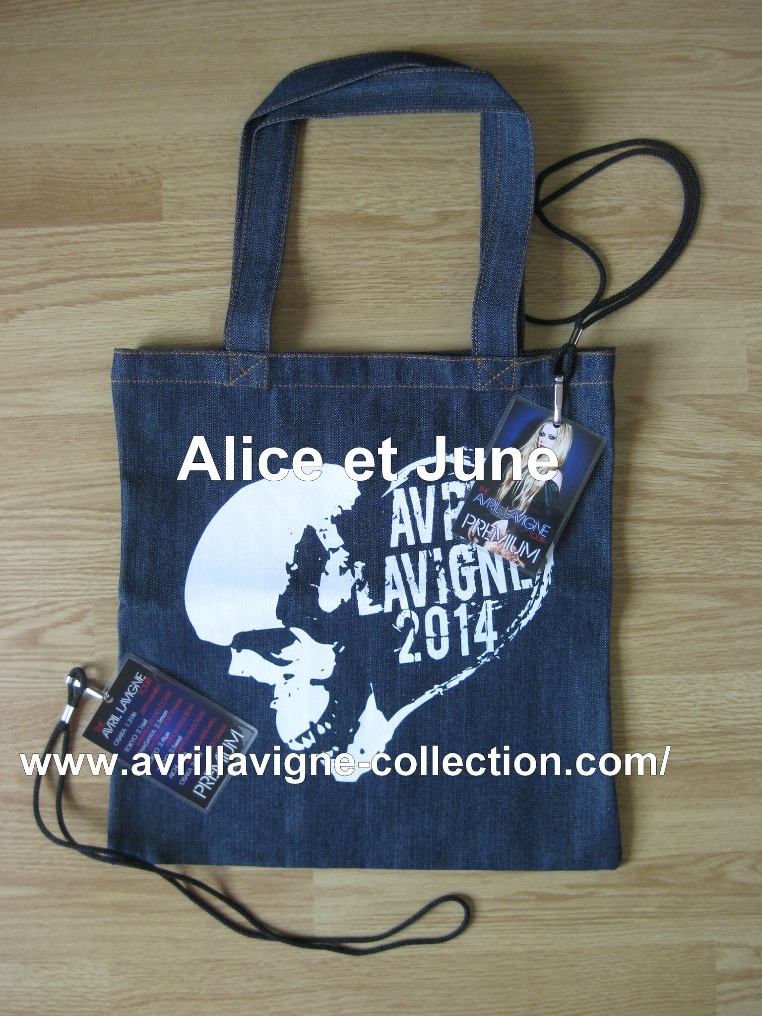 The Avril Lavigne Tour Product - Pack VIP japonais (2014)