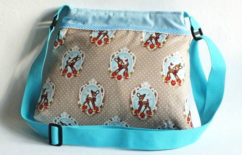 bambi beige coton sac