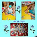 Marque pages et bouts de laine