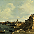 Giovanni antonio canal, called canaletto, venice, a view of the grand canal looking east with santa maria della salute