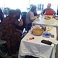 Atelier café tricot croch'thé à la Médiathèque l'Octogone