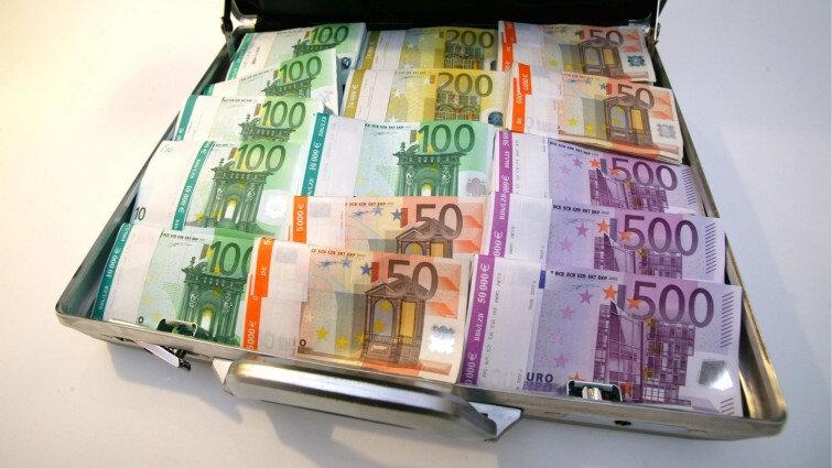 valise magique en euro