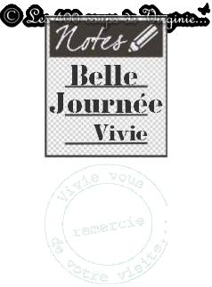 BeLLe JourNée...