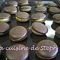 Whoopies chocolat-fruit de la passion