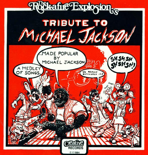 Rock-afire Explosion Tribute to Michael Jackson
