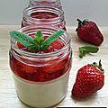 ...véritable panna cotta et sa compotée de fraises... (la cuisine de mercotte, bataille food #56, cuisinons de saison)
