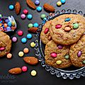 Mini cookies amandes et smarties©