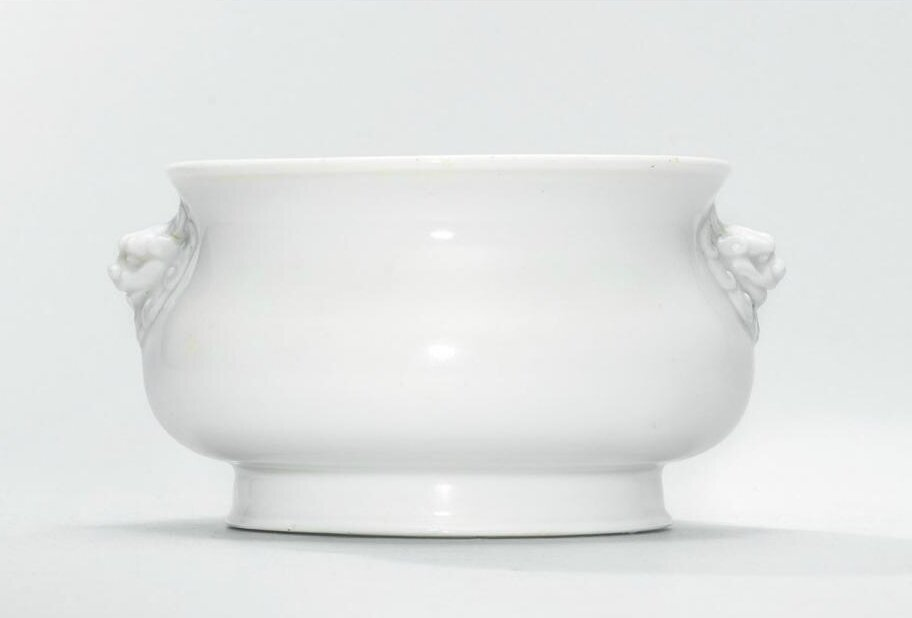 A Dehua censer, late Ming-early Qing dynasty