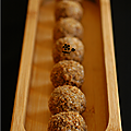 Voeux truffés, truffes chocolat-speculoos