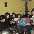 cantamos con la tía Pilar y la señora Marisol