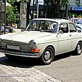 Vw 1600 type 3 notchback de 1969 (37ème internationales oldtimer meeting de baden-baden)