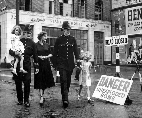 WWII_Unexploded_Bomb_London