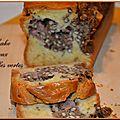 Cake aux lentilles vertes