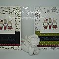 Cartes de vœux santa paws