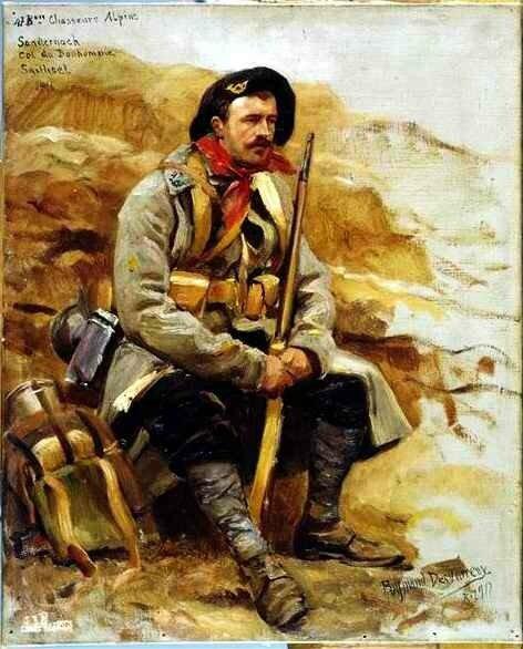 Fantassin du 47e Bataillon de Chasseurs-Alpins
