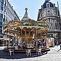 Manège place Jeanne d'Arc